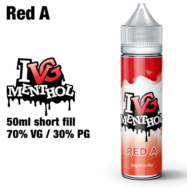 Red A by I VG e-liquids - 50ml