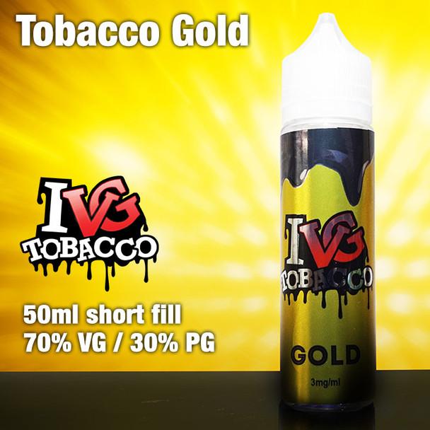Gold Tobacco by I VG e-liquids - 50ml