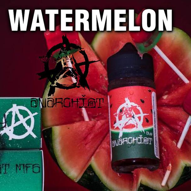Watermelon - Anarchist e-liquid - 70% VG - 100ml