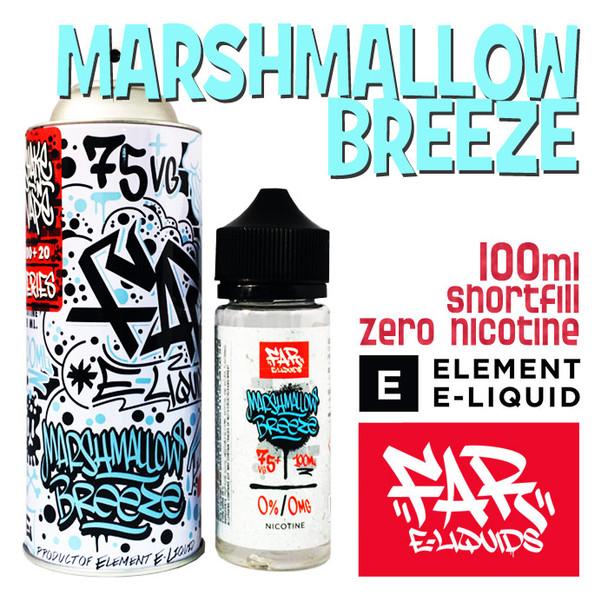 Marshmallow Breeze - Far e-liquids by ELEMENT - 100ml