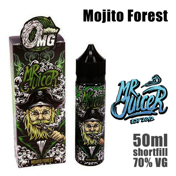 Mojito Forest - Mr Juicer e-liquid - 70% VG - 50ml