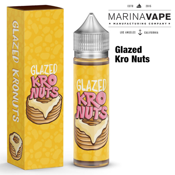 Glazed Kro Nuts e-liquid - Max VG - 50ml