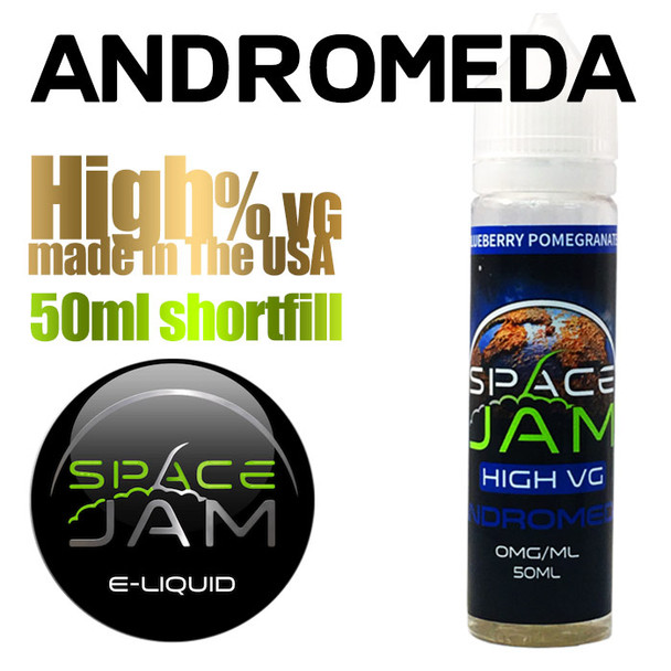 Andromeda - by Space Jam e-liquid - high VG - 50ml