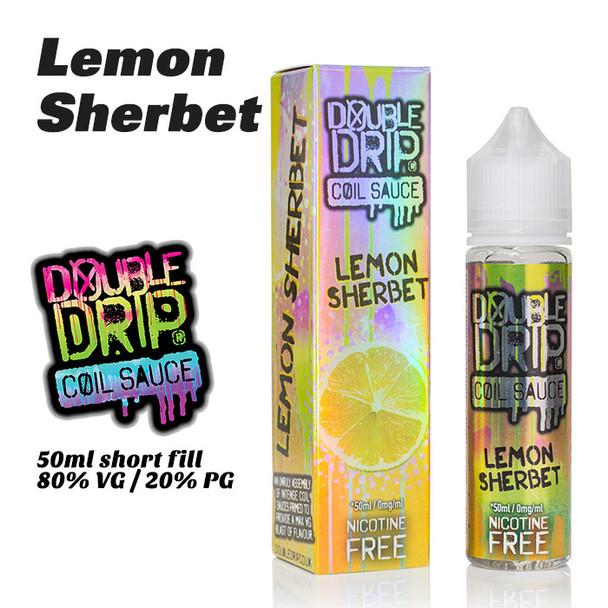 Lemon Sherbet - Double Drip e-liquids - 50ml