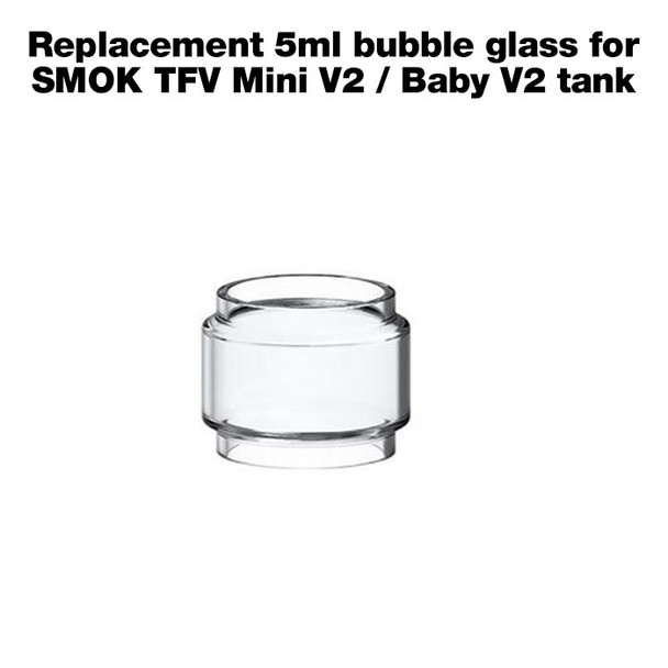 Replacement 5ml bubble glass for SMOK TFV Mini V2 / Baby V2 tank
