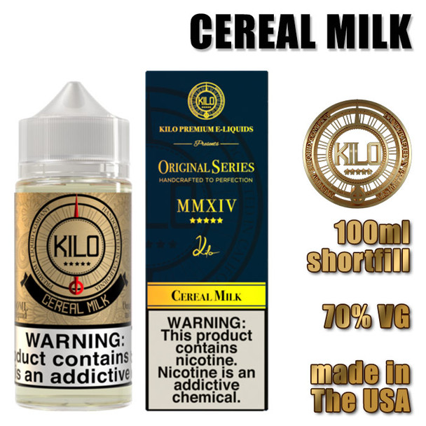 Cereal Milk - KILO e-liquids - 100ml