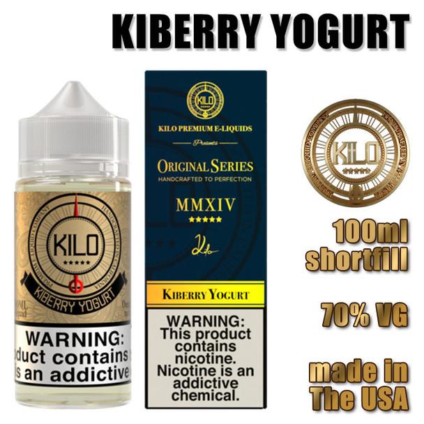 Kiberry Yogurt - KILO e-liquids - 100ml