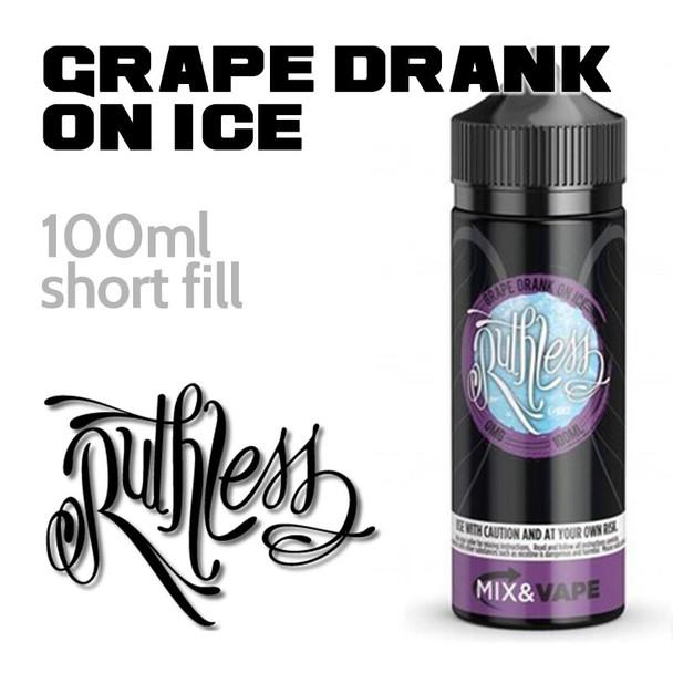 Grape Drank On Ice by Ruthless e-liquid - 60% VG - 100ml