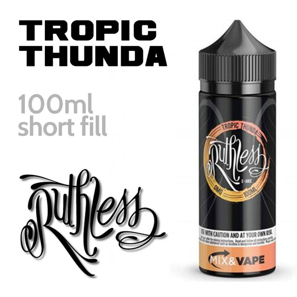 Tropic Thunda by Ruthless e-liquid - 60% VG - 100ml