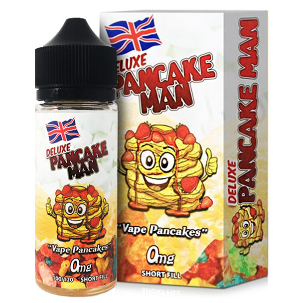 Deluxe Pancake Man - Vape Breakfast Classics e-liquid - 100ml