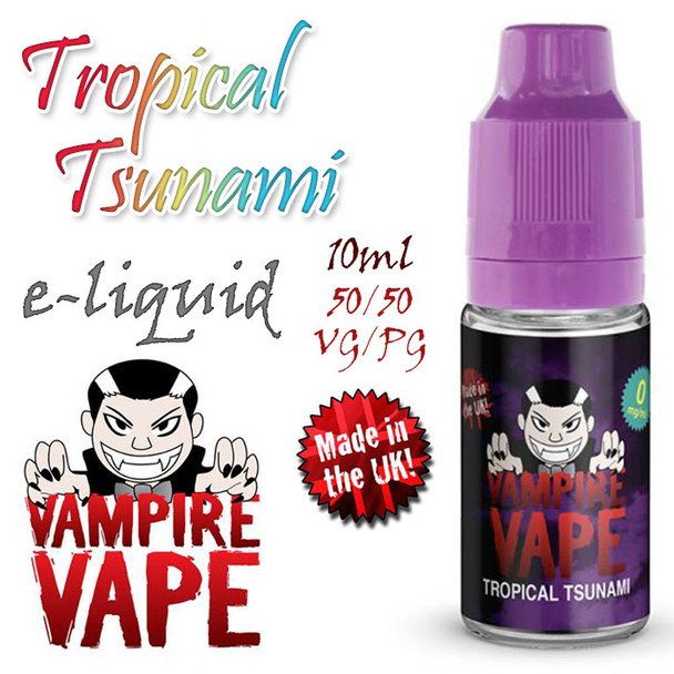 Tropical Tsunami - Vampire Vape e-liquid - 10ml