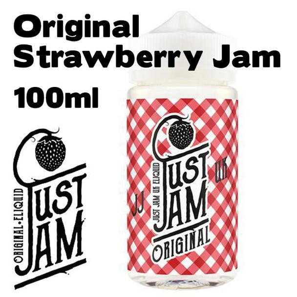 Original Strawberry Jam - Just Jam e-liquid - 80% VG - 100ml