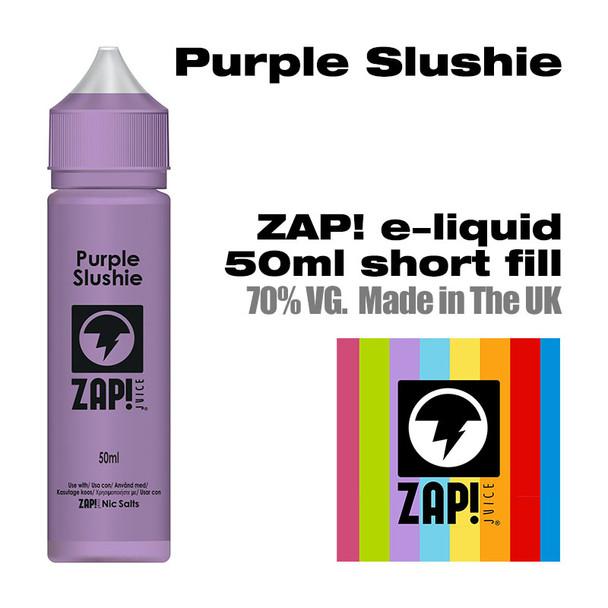 Purple Slushie by Zap! e-liquid – 70% VG – 50ml