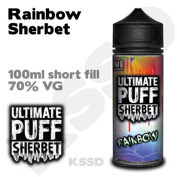 Rainbow Sherbet - Ultimate Puff eliquid - 100ml