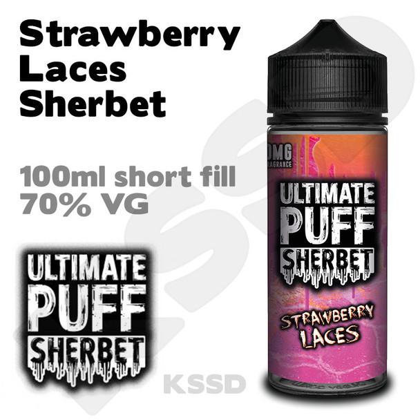 Strawberry Laces Sherbet - Ultimate Puff eliquid - 100ml