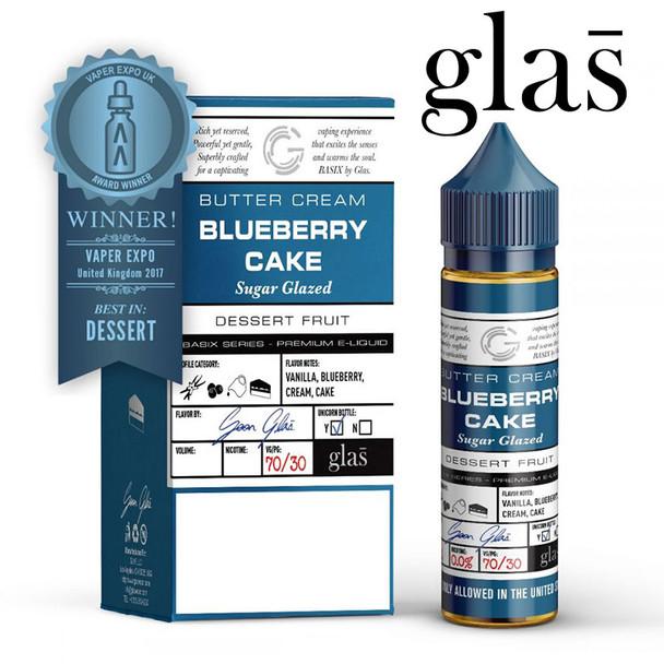 Blueberry Cake - Glas e-liquids - 70% VG - 50ml