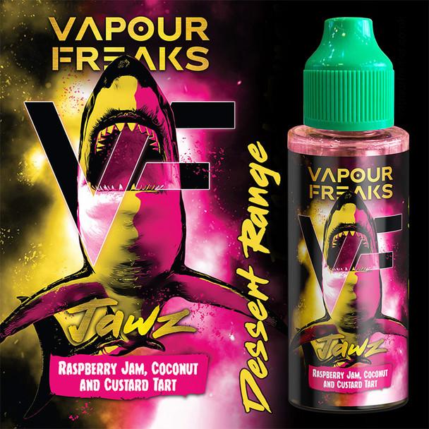 JAWZ - Vapour Freaks Desserts e-liquid - 70% VG - 100ml