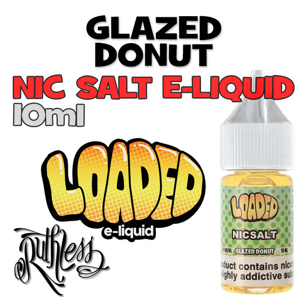 Glazed Donut - Loaded NicSalt e-liquid - 10ml