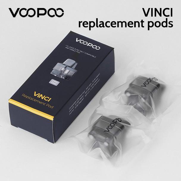 2 x VOOPOO VINCI replacement pods