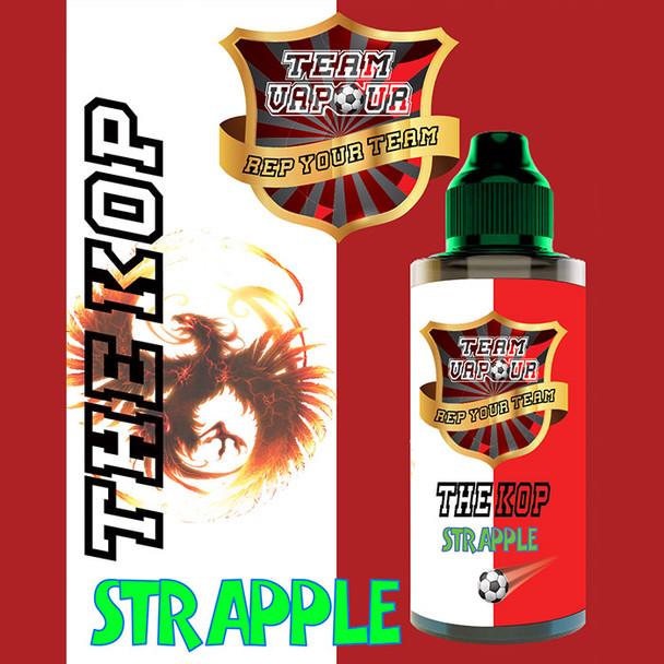The Kop Strapple – Team Vapour e-liquid – 70% VG – 100ml