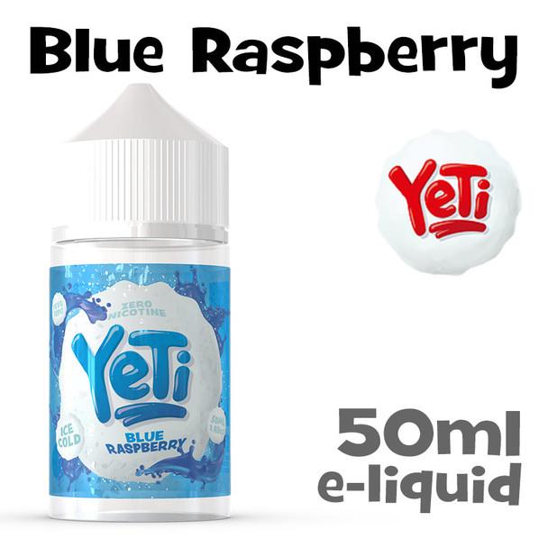 Blue Raspberry - Yeti eliquid - 50ml