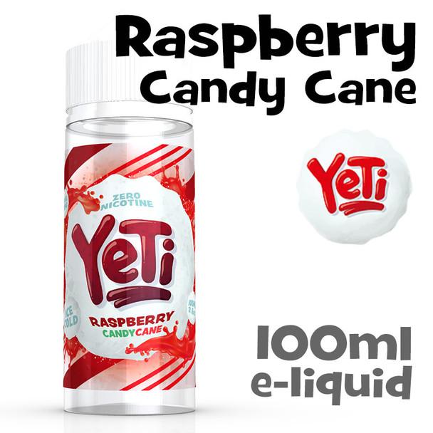 Raspberry Candy Cane - Yeti eliquid - 100ml