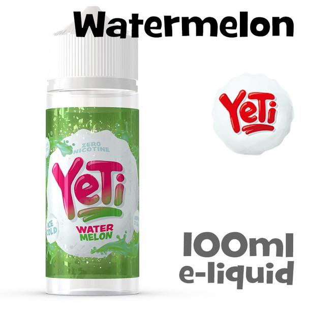 Watermelon - Yeti eliquid - 100ml