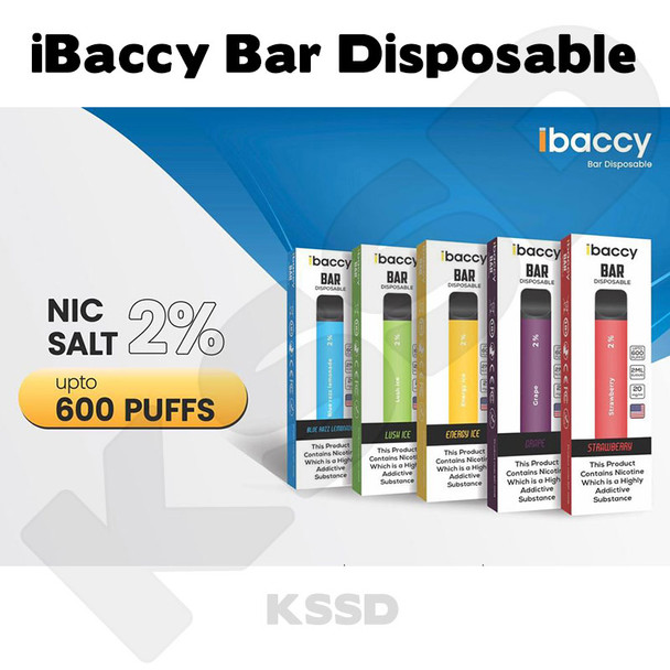 iBaccy Bar Disposable Vape