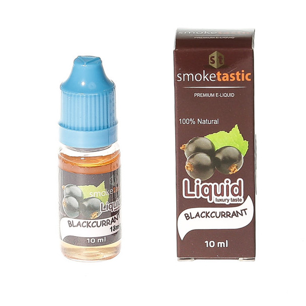 Smoketastic E-Liquid - Blackcurrant