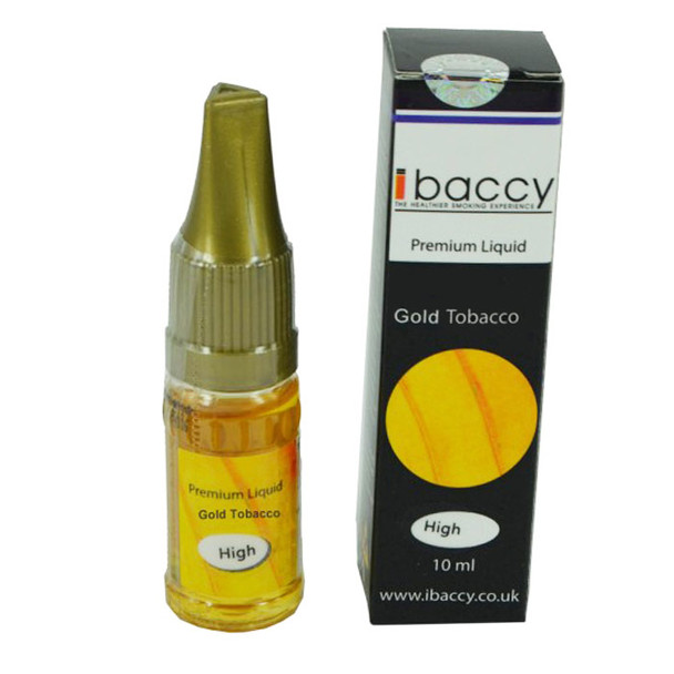iBaccy E-Liquid - Gold Tobacco
