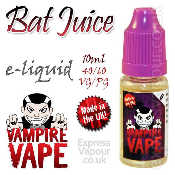 Bat Juice - Vampire Vape 40% VG e-Liquid - 10ml