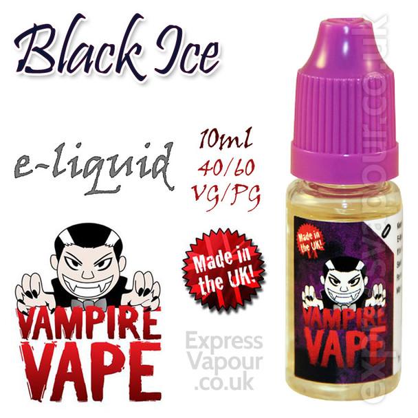 Black Ice - Vampire Vape 40% VG e-Liquid - 10ml