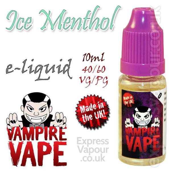 Ice Menthol - Vampire Vape 40% VG e-Liquid - 10ml