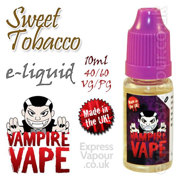 Sweet Tobacco - Vampire Vape 40% VG e-Liquid - 10ml