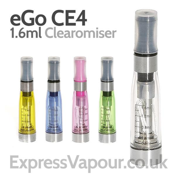 eGo CE4 Clearomiser e-cigarette tank