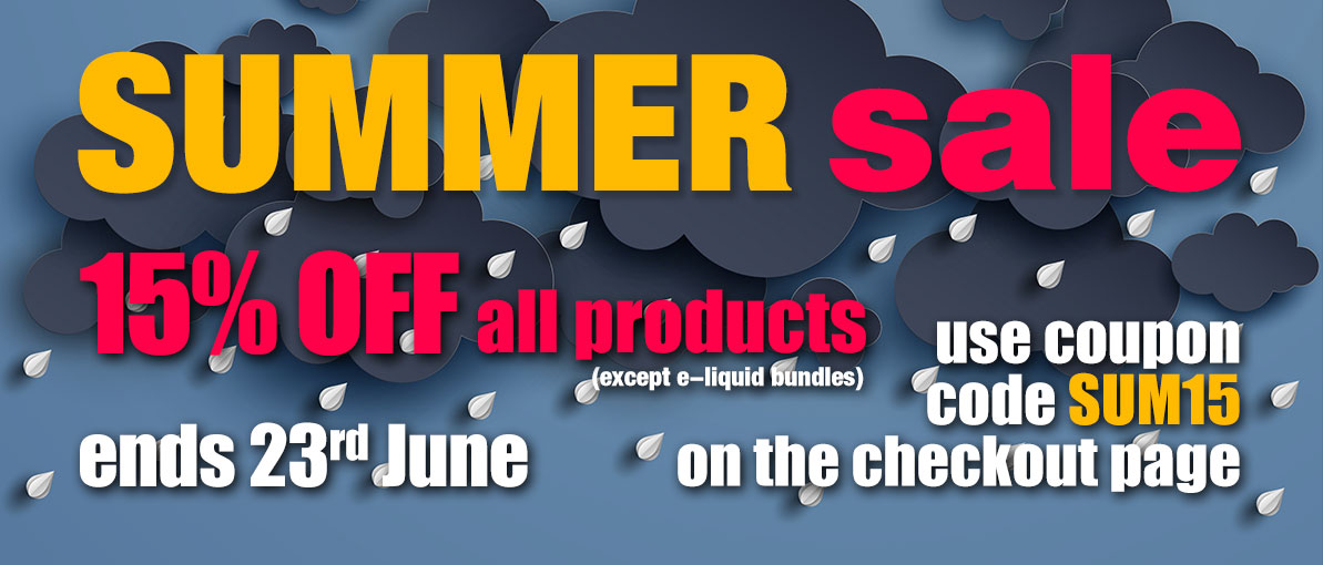 eliquids summer sale