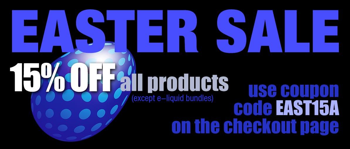 e-liquid sale Easter Sale Express Vapour sale 2019.jpg