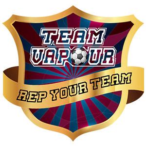 Team Vapour e-liquids logo