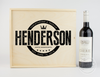 Modern Logo Wine Keepsake Box