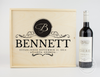 Classic Logo Wine Keepsake Box