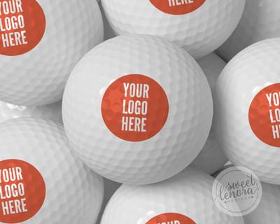 Your Logo Printed Golf Balls
