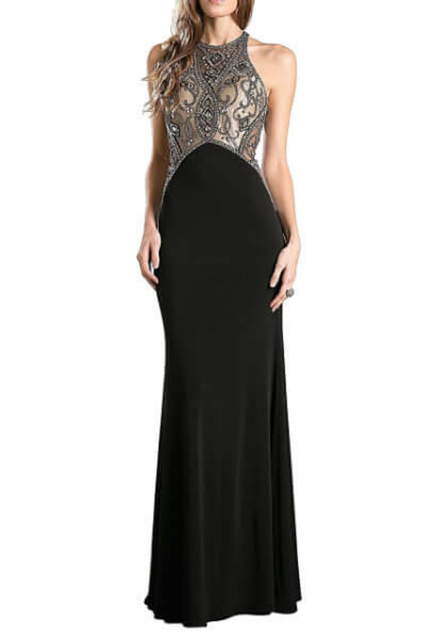 34ef55682a Black & Gold Evening Gown