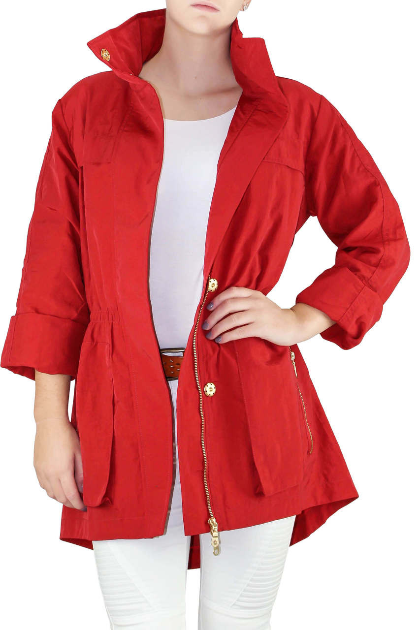 lovely luster enjoy clearance price various colors Red Raincoat