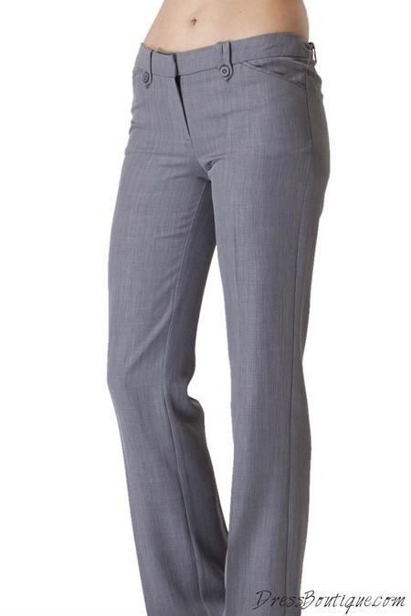 baeaf4b917508a Women's Light Grey Slacks   Shop Women's Pants