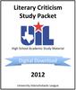Literary Criticism 2012