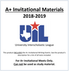 A+ Invitational Material 18-19
