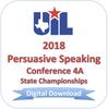 Persuasive Speaking 2018 4A Finals
