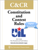 2019-2020 Constitution and Contest Rules (Digital)