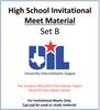 HS Invitational Meet Material 19-20 (Set B)