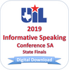 Informative Speaking 2019 5A Finals
